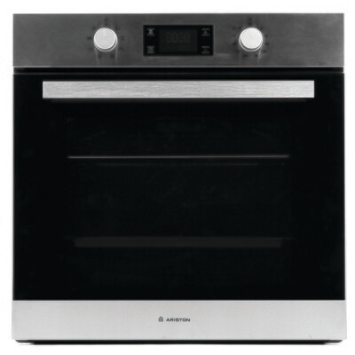 Ariston Built-In Electric Oven, 58 Liter, 60 cm, Stainless Steel - FK 83 X