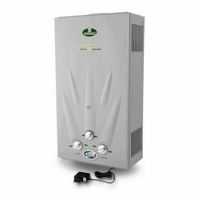 Kiriazi KGH 10 L Water Heater With Adapter - Natural Gas سخان كريازى 10 لتر -  غاز طبيعى بالشاحن