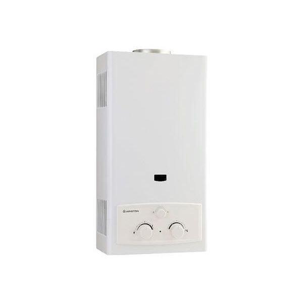 Ariston Gas Water Heater, 10 Liters (White) - L 10 CF NG سخان مياه غاز اريستون، سعة 10 لتر