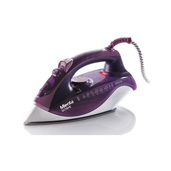 Mienta SI18509A Steam Iron Extreme- 2600 Watt مكواة ميانتا بالبخار 2600 وات