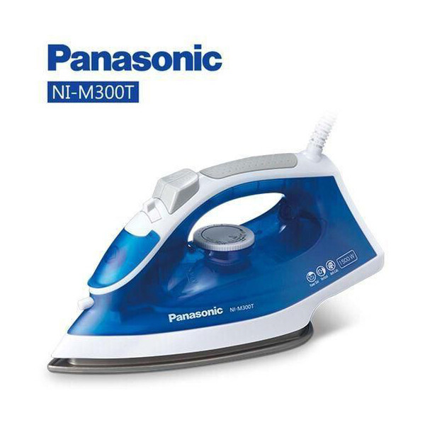Panasonic NI-M300T Titanium Coated Soleplate Garment Care Steam Iron - NI - P 300  / M300 T  مكواة باناسونيك  بخار