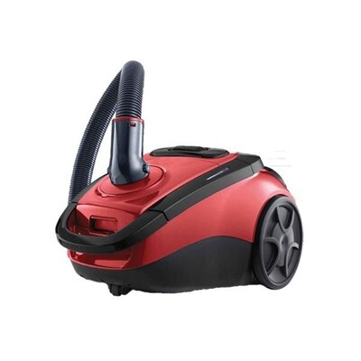 TOSHIBA Vacuum Cleaner 2500 Watt In Red x Black Color With HEPA Filter and Dusting Brush VC-EA300 مكنسة توشيبا 2500 وات 2 موتور