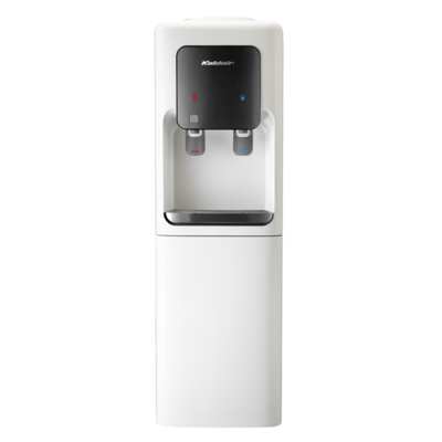 Koldair Hot & Cold Water Dispenser With Refrigerator, 2 Taps, Off White / Grey - KWD B1.1-BFW مبرد مياه كولدير بارد وساخن بثلاجة، 2 حنفية، اوف وايت رمادي
