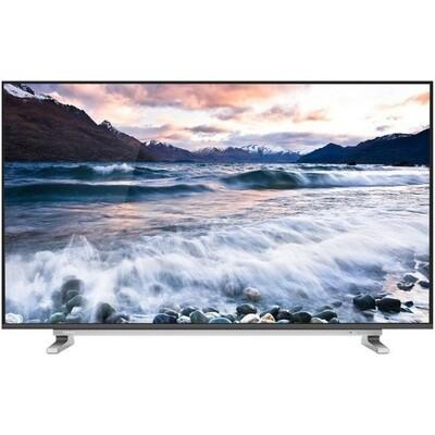 55U5965EA شاشة تليفزيون توشيبا 4K سمارت بدون فريم 55 بوصة مزودة بريسيفر داخلي، 3 مداخل HDMI و مدخلين فلاشة 55