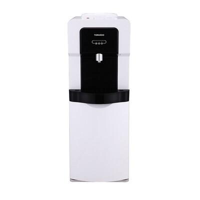 WDM-H40ABE-WB مبرد مياه ترنادو بالحافظة -ابيض *اسود (بارد+ساخن+فلتر ) حنفية واحدة
