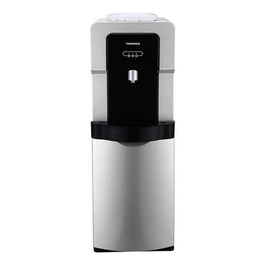 WDM-H40ABE-SB مبرد مياة تورنيدو بالحافظة - سيلفر * اسود (بارد+ساخن+فلتر) حنفية واحدة