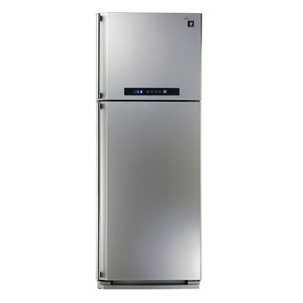 SJ -PC 48A - SL ثلاجة شارب 384 لتر - نوفروست - محلي - سيلفر ــ ديجيتال