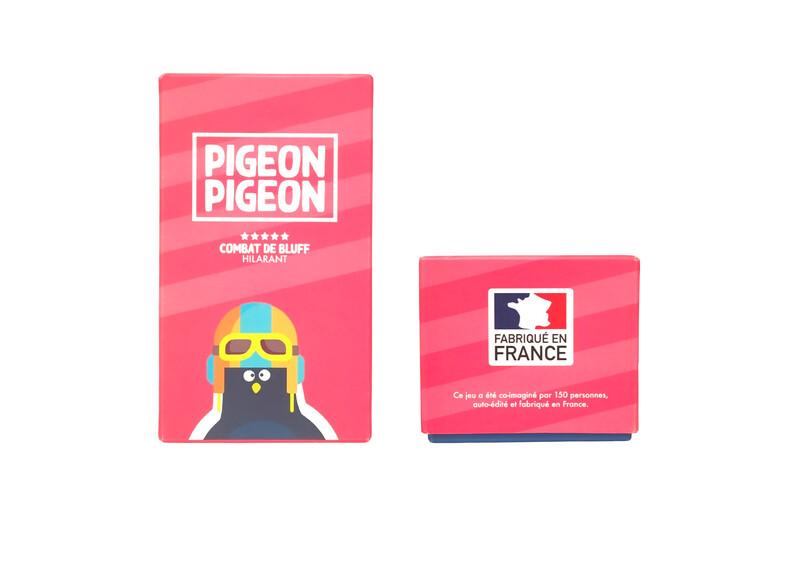 Pigeon Pigeon / Le jeu d'ambiance et de bluff !