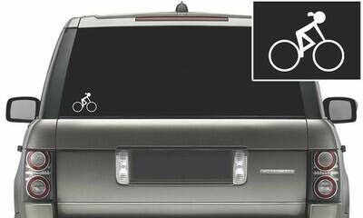 Cycling Girl Sticker