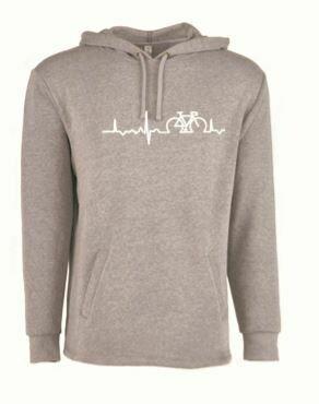 Life Line Unisex Pullover Hoody -Gray