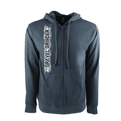 Gravel grinder Full-Zip Hooded Jacket Gray