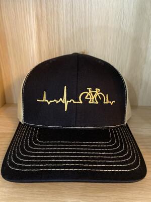 Back Mesh Lifeline Gold- Gold Hat