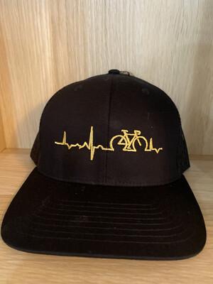 Back Mesh Lifeline Gold - Black Hat