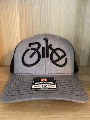 Back Mesh Bike Black- Grey Hat