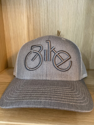 Back Mesh Bike Grey- Grey Hat