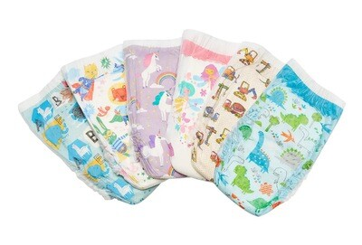 Diapers Size 3 Qty. 12