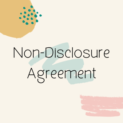 Non-Disclosure Agreement [NDA]