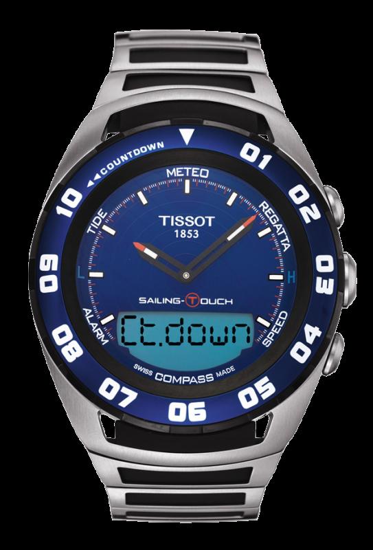 Часы наручные Tissot Sailing-Touch T056.420.21.041.00