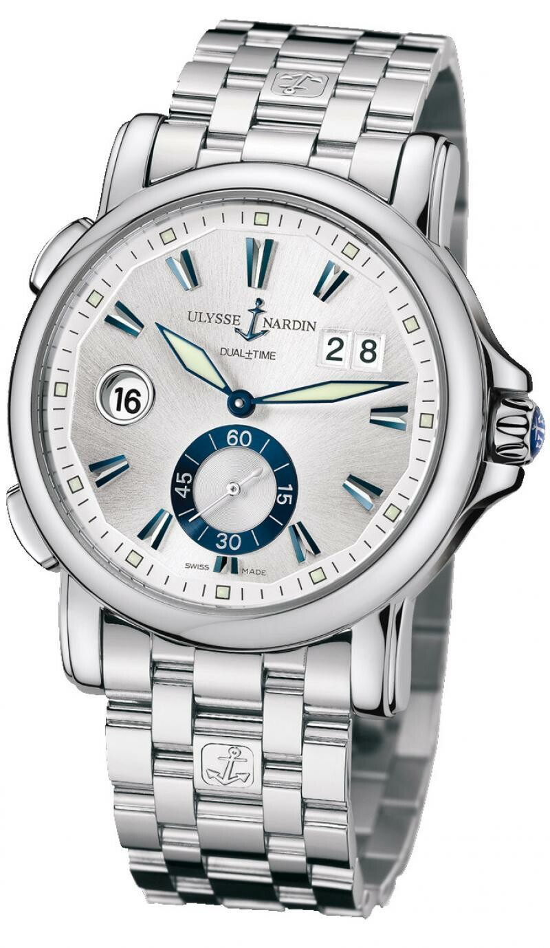 Ulysse Nardin 243-55-7/91 Dual Time GMT Big Date 42mm