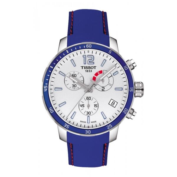 Наручные часы Tissot Quickster Chronograph Football T095.449.17.037.00