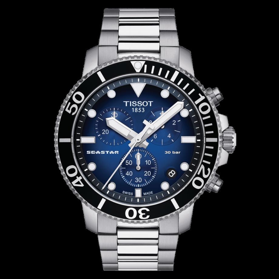 Наручные часы TISSOT SEASTAR 1000 CHRONOGRAPH T120.417.11.041.01