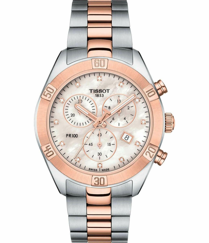 Tissot PR 100 Sport Chic Chronograph T101.917.22.116.00