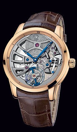 Ulysse Nardin  Skeleton Tourbillon Manufacture 1706-129