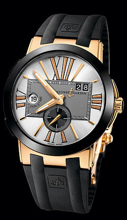 Ulysse Nardin Executive Dual Time 246-00-3/421