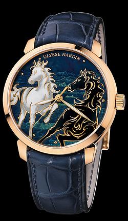 Ulysse Nardin San Marco Classico Horse  8156-111-2/CHEVAL