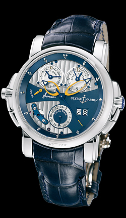 Ulysse Nardin  Sonata Cathedral Dual Time 670-88/213