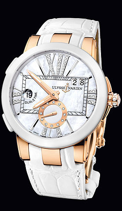 Ulysse Nardin Dual Time Executive Lady 246-10/391