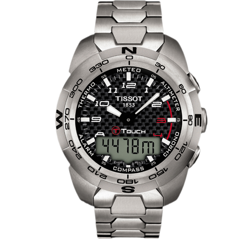 Наручные часы TISSOT T-TOUCH EXPERT TITANIUM T013.420.44.202.00