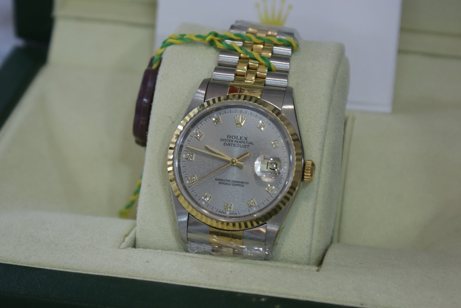Rolex Oyster Perpetual Datejust 116233d_silver