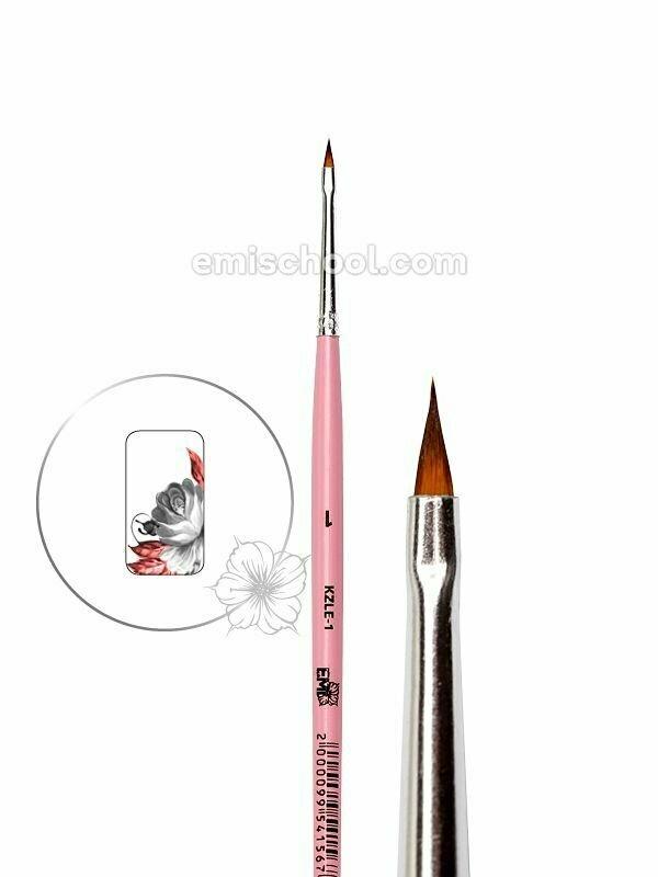 Brush for Zhostovo painting Leaf #1