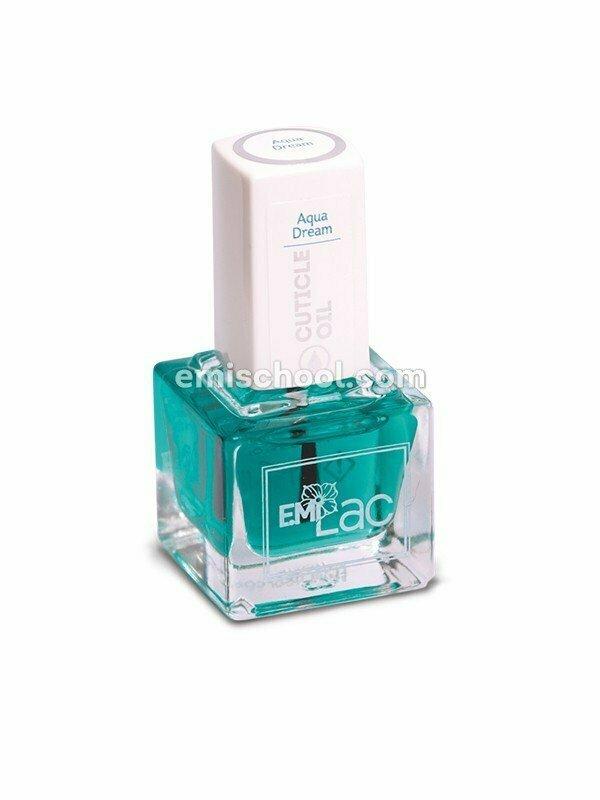 E.MiLac Cuticle Oil Aqua Dream, 6/9/15 ml.