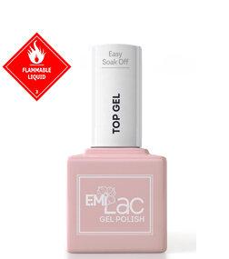 E.MiLac Easy Soak Off Top Gel, 9 ml.