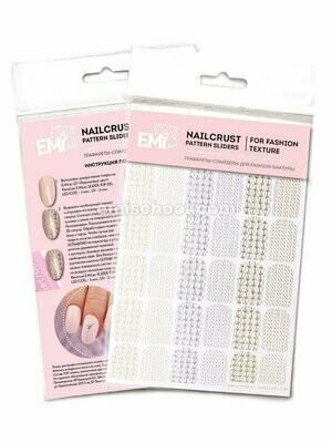 NAILCRUST Pattern Sliders Braids #31