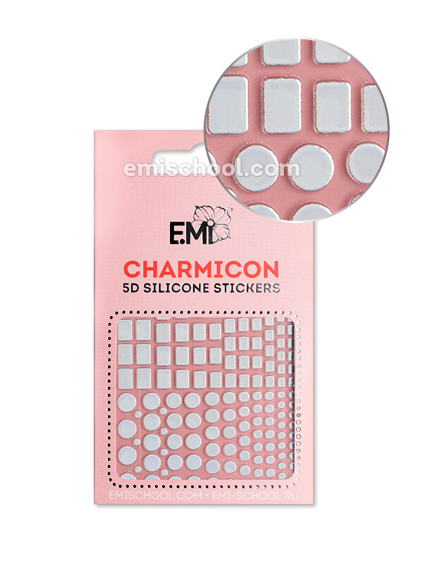 Charmicon 3D Silicone Stickers #99 Geometry