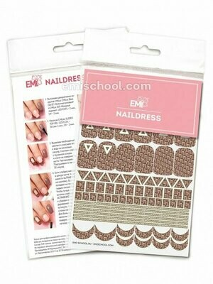 Naildress Slider Design №12 E.Mi-print