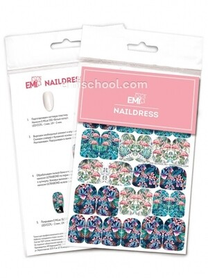 Naildress Slider Design #34 Flamingo