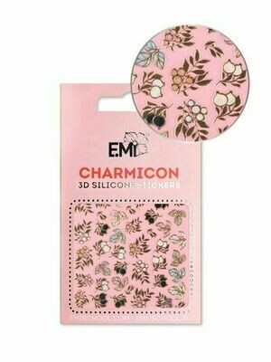 Charmicon 3D Silicone Stickers #137 Twigs and Berries