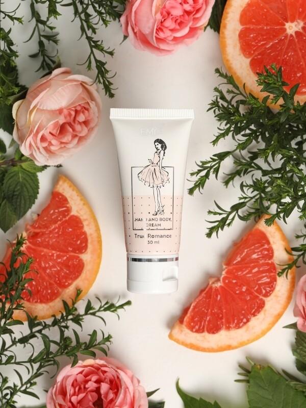 Hand and Body Cream True Romance, 30 ml