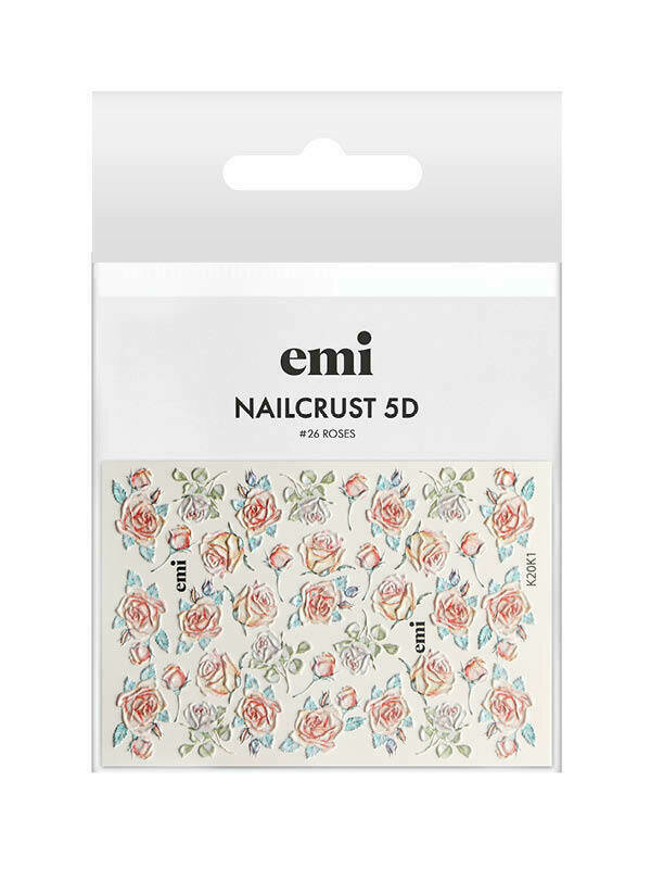NAILCRUST 5D #26 Roses