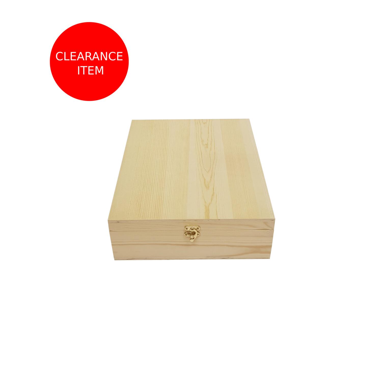 Hamper Box With Hinged Lid 335x284x90