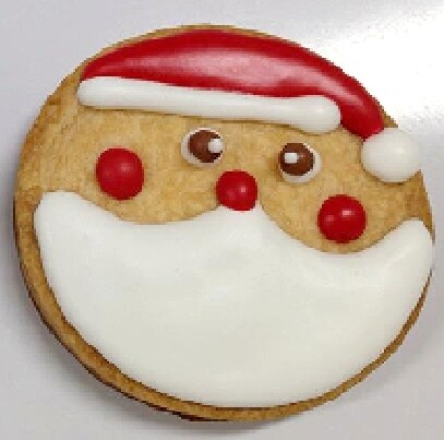 Christmas Cookie - Santa