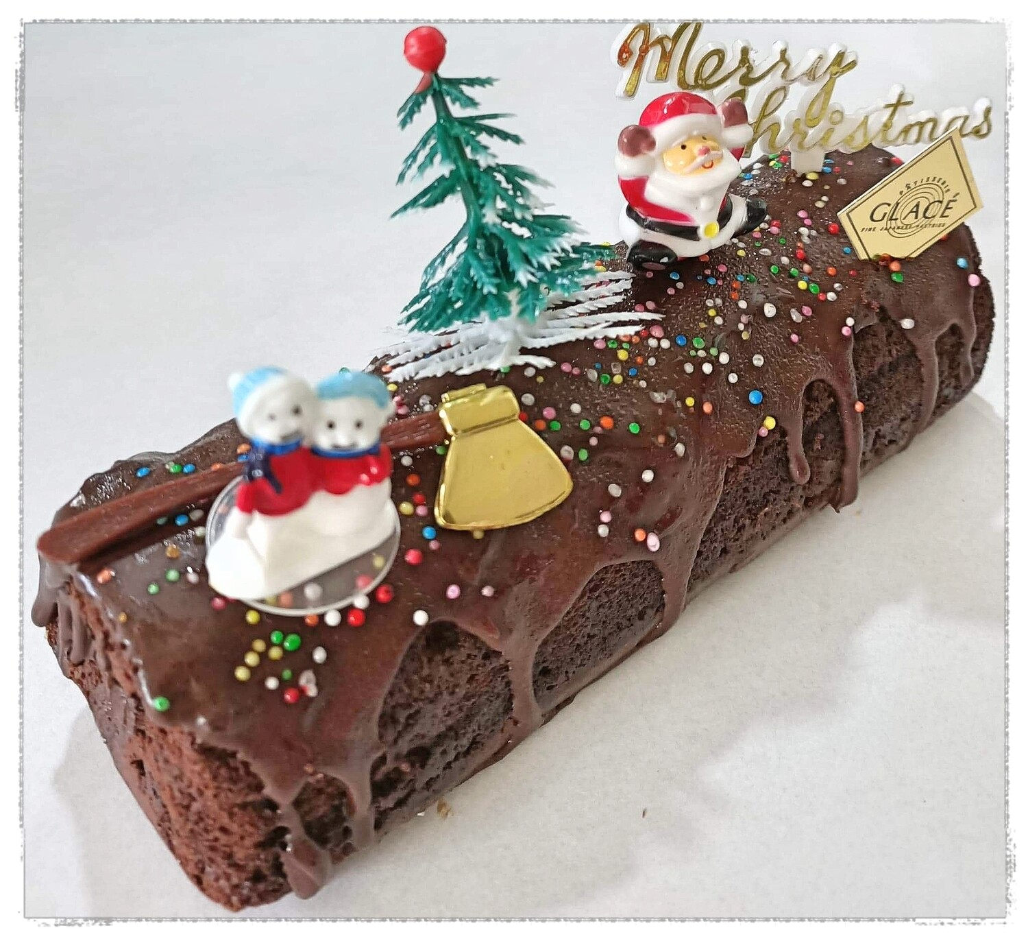 Christmas Triple Choco Butter Cake