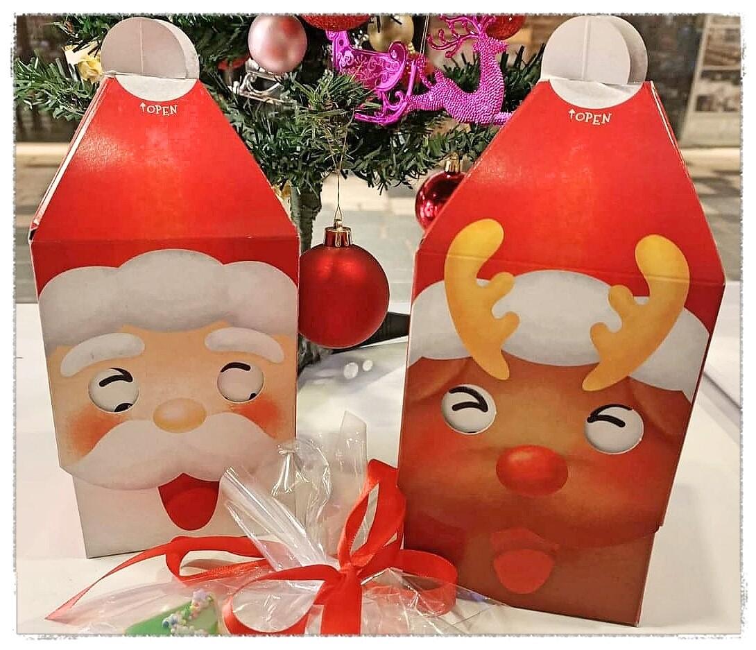 Christmas Gift Box Santa 2