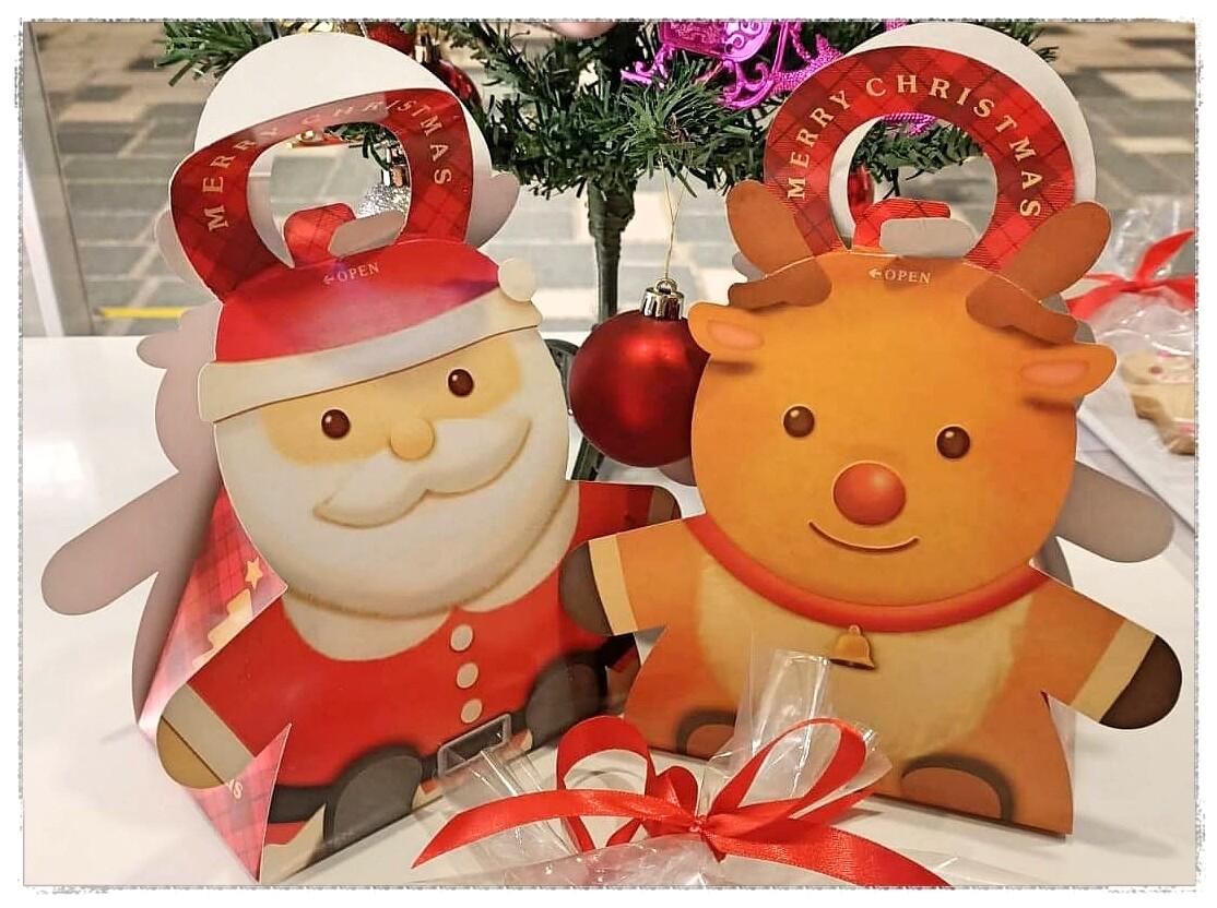 Christmas Gift Box Santa 1