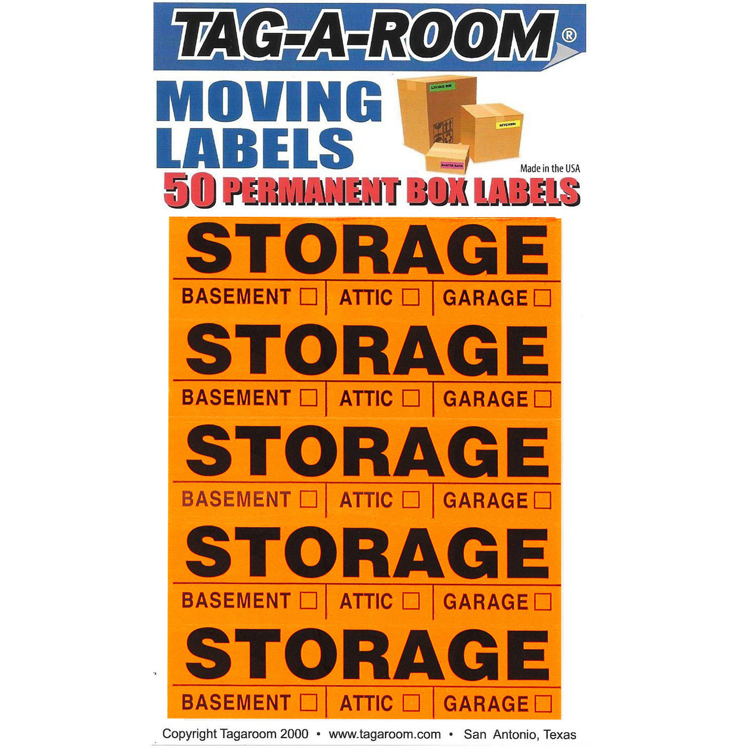 Storage Labels - 50 Count