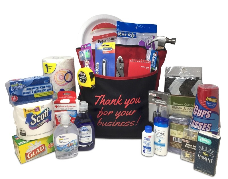 Custom Branded - Move Day Necessities Bag